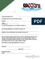 16.09 MiX MiXXtra Permission Form