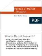 1 Fundamentals of Market Research 2 1