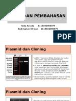 Biotek - Hasil Pembahasan DNA Rekombinasi