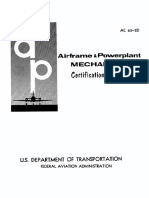 Airframe and Powerplant Mechanic Certification Guide