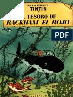 12-Tintin - El Tesoro de Rackham El Rojo