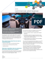 Getting Your Commercial Pilot Licence