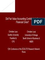 Does FV Acct Exacerbate Fin Crisi-PPT-christian-laux