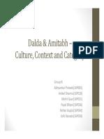 Amitabh-dalda Case Analysis Group 8