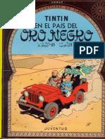 15-Tintin en El País Del Oro Negro