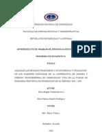 Proyecto de Los Estados Financieros de La Coacmi