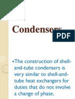 Condensers