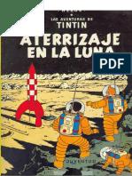 17-Tintin - Aterrizaje en La Luna