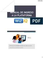 Manual de Ingreso Wiiziq