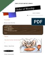 Order of Worship 06 06 2010 v1
