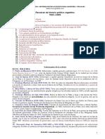 Historia Politica Argentina 1500 2003
