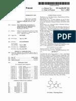 Patent US 6630507 B1 Canabinoids