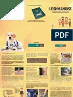 Folder Orientativo - Leishmaniose Proteja Sua Família e Seu Cão