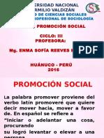 Diapositivas Promocion Social 2016