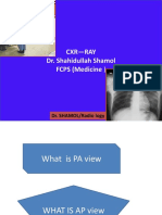 Cxr ABC by Dr Shamol