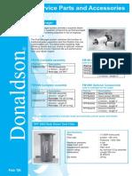 Donaldson Service Parts Acc