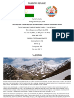 FINAL Presentation Tajikistan