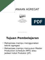 Kuliah 3 - Aggregate Plan