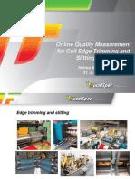 FocalSpec Online Coil Edge Quality Measurement _8 2012