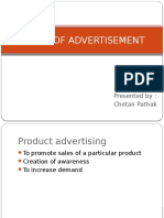 Types and Tools of Advertisements