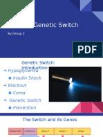 Molecular Switch - Grp 2