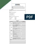 Formulario Evaluacion de Gestion
