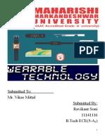 Wearable Tech Report