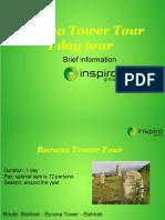 Burana Tower Tour 1 Day Tour