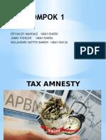 Kel 1 (Tax Amnesty)