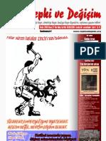 Tepki ve Değişim Dergisi 27. sayı