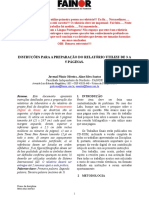 Modelo Relatorio 2013.2