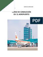 Curso Conduccion en El Aeropuerto