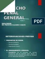 Derecho Penal General. Tema 01