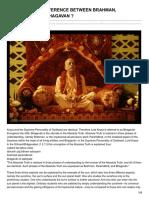 Iskcondesiretree.com-q What is the Difference Between Brahman Paramatma and Bhagavan