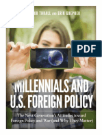 Millennials and U.S. Foreign Policy