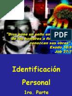 3. Identificacion Personal 1ra. Parte Historia