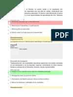 Evaluacion Primer Bloque I Educacion Diversidad