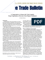 A Compromise to Advance the Trade Agenda
