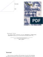 US - Congress - Biotechnology in a Global Economy
