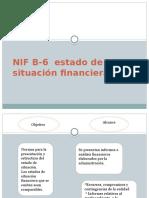 NIF B-6 Estado de Situación Financiera