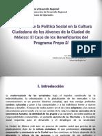 El Impacto de La Política Social Caso Prepas Sí Karla Chávez