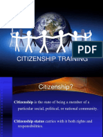 Module 2 - Citizenship Training