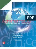 Administracion Una Perspectiva Global y Empresarial Koontz.unidad Dos.o