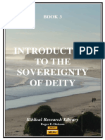 INTRODUCTION TO THE SOVEREIGNTY OF GOD