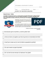 Prueba de Lenguaje y Comunicación La Noticia