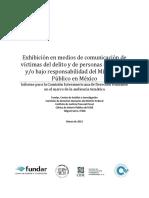 Exhibición en medios de comunicación de víctimas del delito y de personas detenidas y_o bajo responsabilidad del Ministerio Público en México.pdf