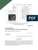 Capítulo Libro Microbiología de La Oxidación de Sulfuros