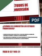 Métodos de Conversión