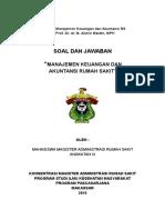 Materi Manajemen Keuangan Dan Akuntansi Rs
