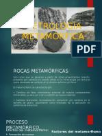 PETROLOGÍA METAMÓRFICA